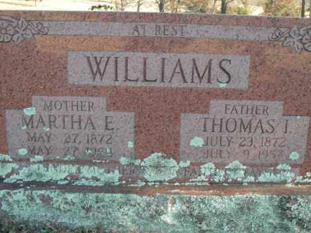 WILLIAMS, MARTHA E. - Boone County, Arkansas | MARTHA E. WILLIAMS - Arkansas Gravestone Photos
