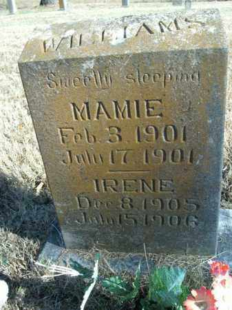 WILLIAMS, IRENE - Boone County, Arkansas | IRENE WILLIAMS - Arkansas Gravestone Photos