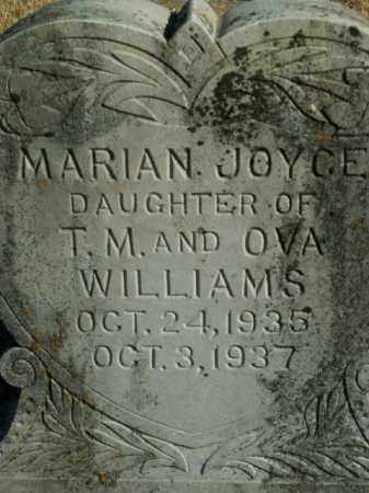 WILLIAMS, MARIAN JOYCE - Boone County, Arkansas | MARIAN JOYCE WILLIAMS - Arkansas Gravestone Photos