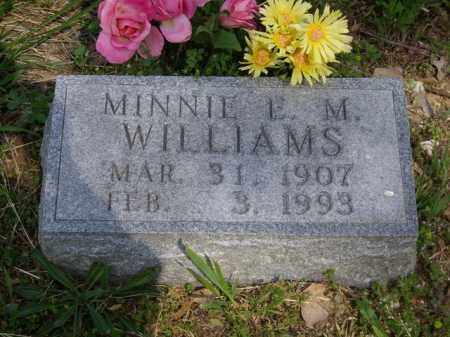 WILLIAMS, MINNIE L. M. - Boone County, Arkansas | MINNIE L. M. WILLIAMS - Arkansas Gravestone Photos