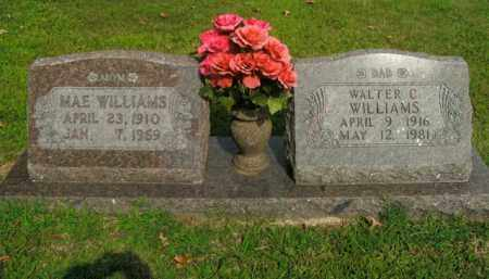 WILLIAMS, MAE - Boone County, Arkansas | MAE WILLIAMS - Arkansas Gravestone Photos