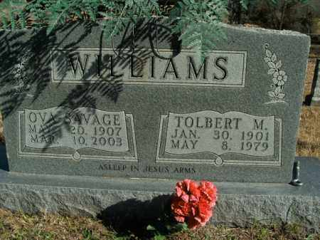 SAVAGE WILLIAMS, OVA - Boone County, Arkansas | OVA SAVAGE WILLIAMS - Arkansas Gravestone Photos