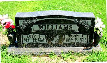 WILLIAMS, HENRY L - Boone County, Arkansas | HENRY L WILLIAMS - Arkansas Gravestone Photos
