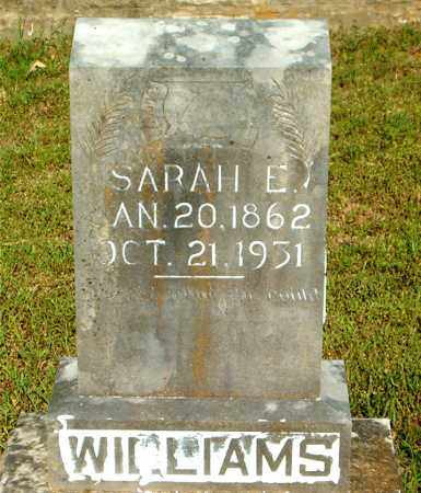 WILLIAMS, SARAH  E. - Boone County, Arkansas | SARAH  E. WILLIAMS - Arkansas Gravestone Photos