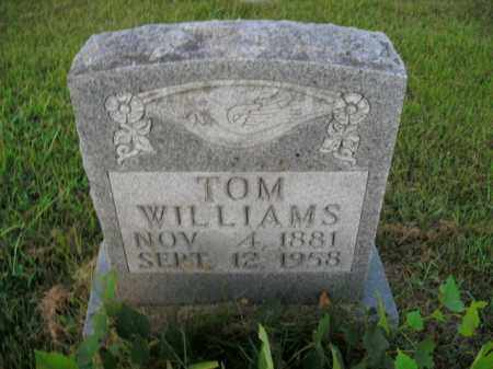 WILLIAMS, WILLIAM TOM - Boone County, Arkansas | WILLIAM TOM WILLIAMS - Arkansas Gravestone Photos