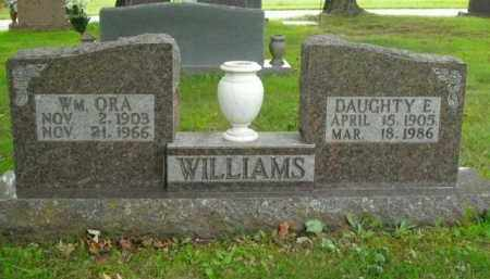 WILLIAMS, WM. ORA - Boone County, Arkansas | WM. ORA WILLIAMS - Arkansas Gravestone Photos