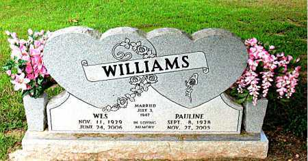 WILLIAMS, WES - Boone County, Arkansas | WES WILLIAMS - Arkansas Gravestone Photos