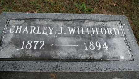 WILLIFORD, CHARLEY J. - Boone County, Arkansas | CHARLEY J. WILLIFORD - Arkansas Gravestone Photos