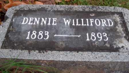 "WILLIFORD, LEON DINSMORE ""DENNIE"" - Boone County, Arkansas | LEON DINSMORE ""DENNIE"" WILLIFORD - Arkansas Gravestone Photos"