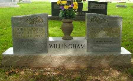 EASTER WILLINGHAM, DORA - Boone County, Arkansas | DORA EASTER WILLINGHAM - Arkansas Gravestone Photos