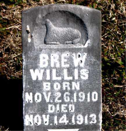WILLIS, BREW - Boone County, Arkansas | BREW WILLIS - Arkansas Gravestone Photos