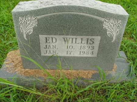 WILLIS, ED - Boone County, Arkansas | ED WILLIS - Arkansas Gravestone Photos