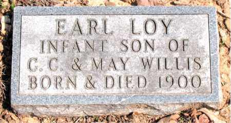 WILLIS, EARL LOY - Boone County, Arkansas | EARL LOY WILLIS - Arkansas Gravestone Photos