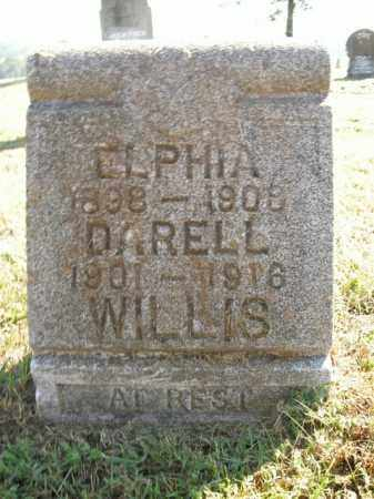 WILLIS, ELPHIA - Boone County, Arkansas | ELPHIA WILLIS - Arkansas Gravestone Photos