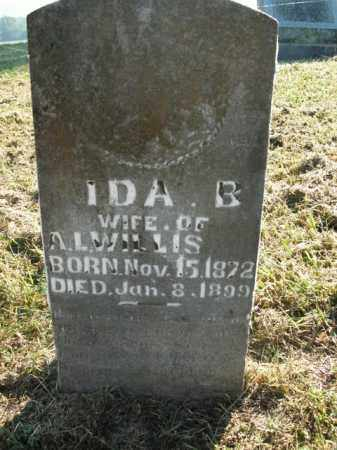 WILLIS, IDA B. - Boone County, Arkansas | IDA B. WILLIS - Arkansas Gravestone Photos