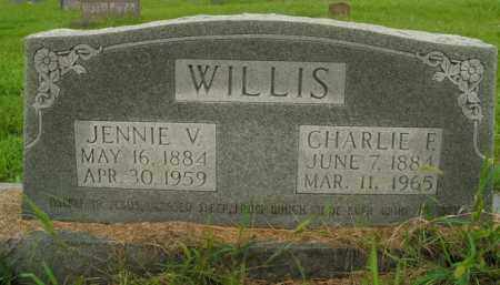 WILLIS, JENNIE V. - Boone County, Arkansas | JENNIE V. WILLIS - Arkansas Gravestone Photos