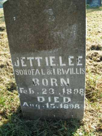 WILLIS, JETTIE LEE - Boone County, Arkansas | JETTIE LEE WILLIS - Arkansas Gravestone Photos