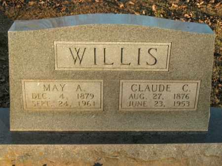 WILLIS, MAY A. - Boone County, Arkansas | MAY A. WILLIS - Arkansas Gravestone Photos