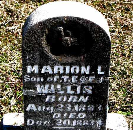WILLIS, MARION  L. - Boone County, Arkansas | MARION  L. WILLIS - Arkansas Gravestone Photos