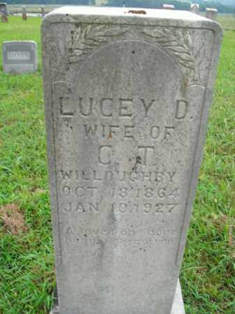 WILLOUGHBY, LUCEY D. - Boone County, Arkansas | LUCEY D. WILLOUGHBY - Arkansas Gravestone Photos