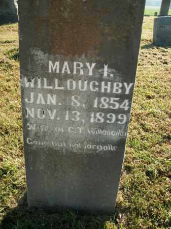 WILLOUGHBY, MARY I. - Boone County, Arkansas | MARY I. WILLOUGHBY - Arkansas Gravestone Photos