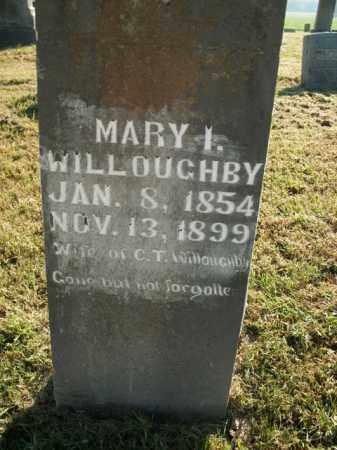 WILLOUGHBY, MARY I. - Boone County, Arkansas | MARY I. WILLOUGHBY - Arkansas Gravestone Photos