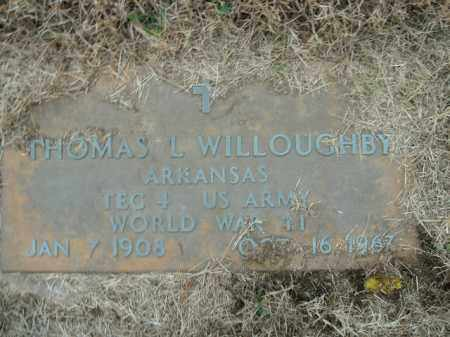 WILLOUGHBY  (VETERAN WWII), THOMAS L - Boone County, Arkansas | THOMAS L WILLOUGHBY  (VETERAN WWII) - Arkansas Gravestone Photos
