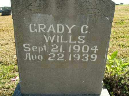 WILLS, GRADY C. - Boone County, Arkansas | GRADY C. WILLS - Arkansas Gravestone Photos