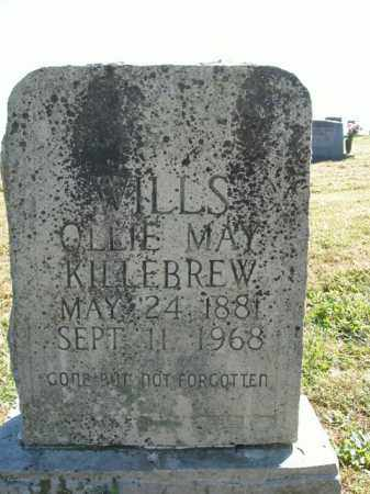 KILLEBREW WILLS, OLLIE MAY - Boone County, Arkansas | OLLIE MAY KILLEBREW WILLS - Arkansas Gravestone Photos