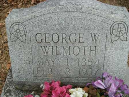 WILMOTH, GEORGE WASHINGTON - Boone County, Arkansas | GEORGE WASHINGTON WILMOTH - Arkansas Gravestone Photos
