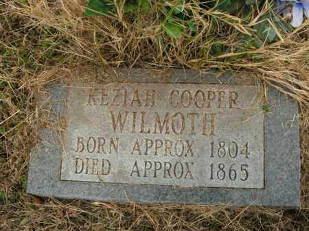 COOPER WILMOTH, KEZZIAH - Boone County, Arkansas | KEZZIAH COOPER WILMOTH - Arkansas Gravestone Photos