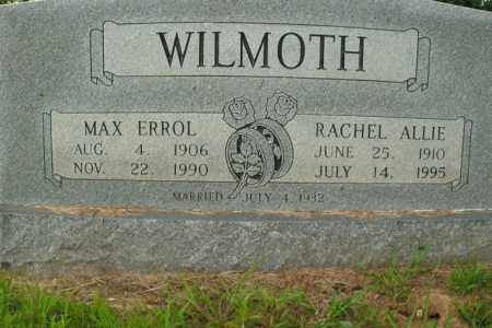 WILMOTH, RACHEL ALLIE - Boone County, Arkansas | RACHEL ALLIE WILMOTH - Arkansas Gravestone Photos