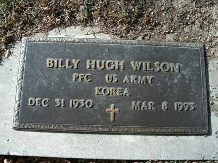 WILSON  (VETERAN KOR), BILLY HUGH - Boone County, Arkansas | BILLY HUGH WILSON  (VETERAN KOR) - Arkansas Gravestone Photos