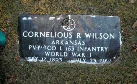 WILSON  (VETERAN WWI), CORNELIOUS R - Boone County, Arkansas | CORNELIOUS R WILSON  (VETERAN WWI) - Arkansas Gravestone Photos