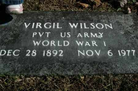 WILSON  (VETERAN WWI), VIRGIL - Boone County, Arkansas | VIRGIL WILSON  (VETERAN WWI) - Arkansas Gravestone Photos