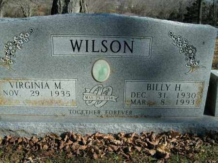 WILSON, BILLY H. - Boone County, Arkansas | BILLY H. WILSON - Arkansas Gravestone Photos