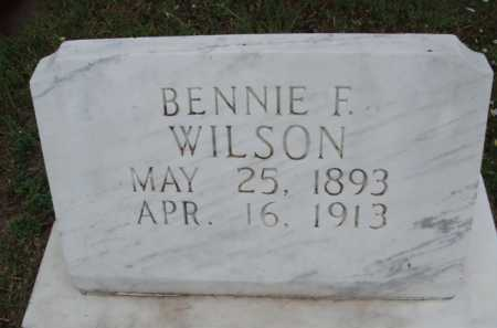 WILSON, BENNIE F. - Boone County, Arkansas | BENNIE F. WILSON - Arkansas Gravestone Photos