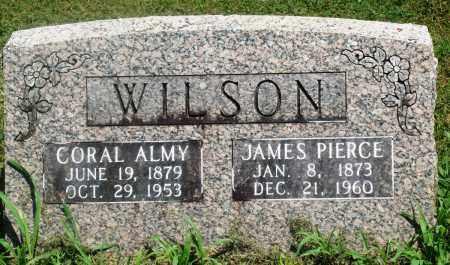 WILSON, JAMES PIERCE - Boone County, Arkansas | JAMES PIERCE WILSON - Arkansas Gravestone Photos