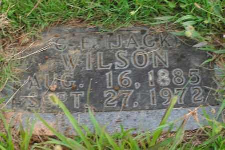 WILSON, C. E. (JACK) - Boone County, Arkansas | C. E. (JACK) WILSON - Arkansas Gravestone Photos