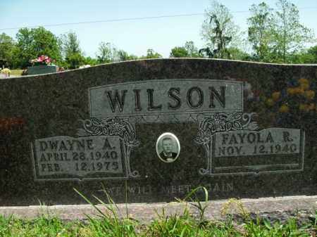 WILSON, DWAYNE A. - Boone County, Arkansas | DWAYNE A. WILSON - Arkansas Gravestone Photos