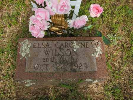 WILSON, ELSA CAROLINE - Boone County, Arkansas | ELSA CAROLINE WILSON - Arkansas Gravestone Photos