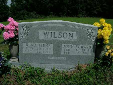 WILSON, JOHN EDWARD - Boone County, Arkansas | JOHN EDWARD WILSON - Arkansas Gravestone Photos