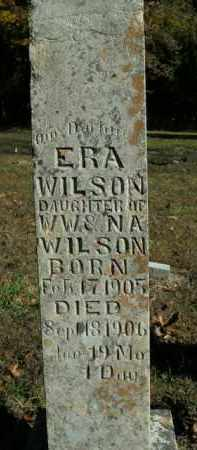 WILSON, ERA - Boone County, Arkansas | ERA WILSON - Arkansas Gravestone Photos