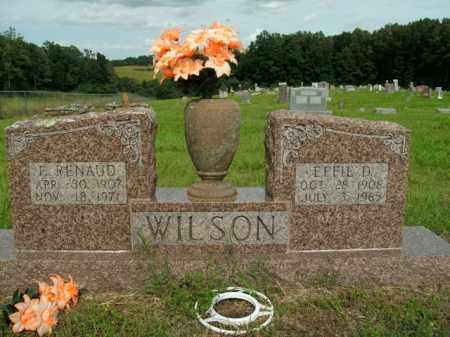 WILSON, FRANCIS RENAUD - Boone County, Arkansas | FRANCIS RENAUD WILSON - Arkansas Gravestone Photos