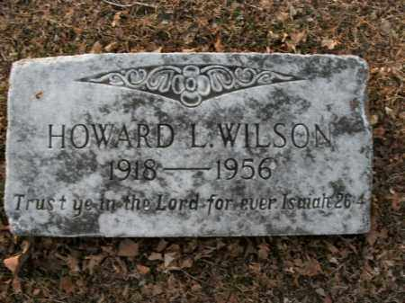 WILSON, HOWARD L. - Boone County, Arkansas | HOWARD L. WILSON - Arkansas Gravestone Photos