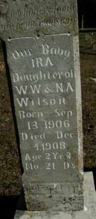 WILSON, IRA - Boone County, Arkansas | IRA WILSON - Arkansas Gravestone Photos