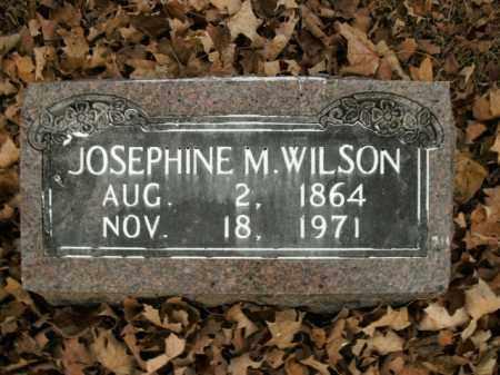 WILSON, JOSEPHINE M. - Boone County, Arkansas | JOSEPHINE M. WILSON - Arkansas Gravestone Photos