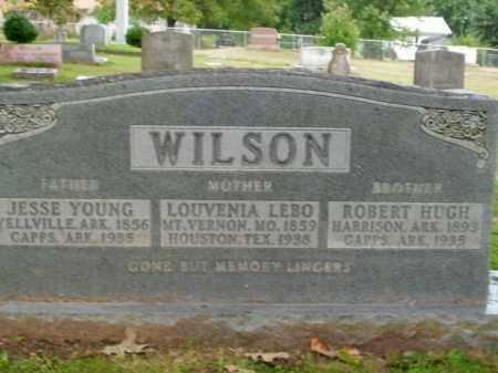 WILSON, ROBERT HUGH - Boone County, Arkansas | ROBERT HUGH WILSON - Arkansas Gravestone Photos