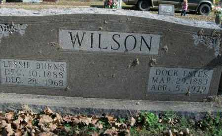 BURNS WILSON, LESSIE - Boone County, Arkansas | LESSIE BURNS WILSON - Arkansas Gravestone Photos