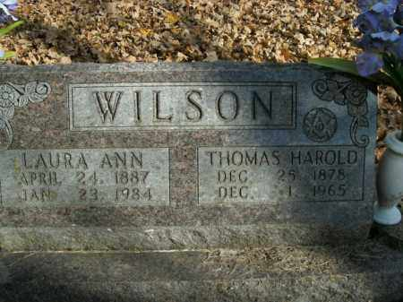 WILSON, THOMAS HAROLD - Boone County, Arkansas | THOMAS HAROLD WILSON - Arkansas Gravestone Photos